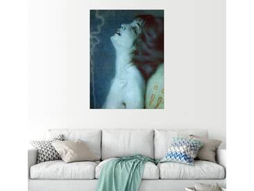 Posterlounge Wandbild - Raphael Kirchner »Fumeuse dOpium«, bunt, Leinwandbild, 60 x 80 cm, bunt