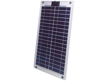 Sunset SUNSET Solarmodul »SM 10L«, 10 W, silberfarben, silberfarben