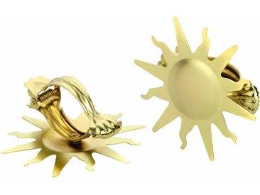 Good Life Dekoklammer »Sonne«, Vorhänge, (1-tlg), für Stoffe und Vorhänge, goldfarben, messingfarben