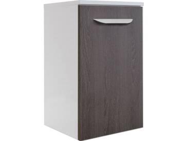 FACKELMANN Badunterschrank »Lavella«, Breite 33,5 cm, braun, Türanschlag rechts, eichefarben dunkel