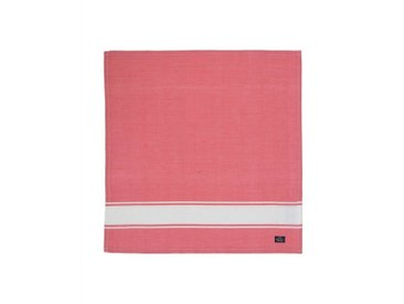 Lexington Stoffserviette, »Napkin With Stripe«, rot, Baumwolle, rot