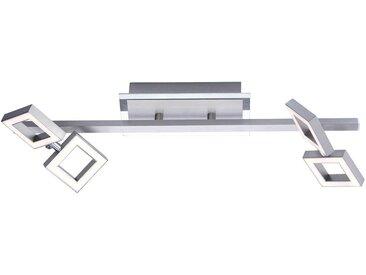 Paul Neuhaus Deckenleuchte »TWINS«, 4-flammig, inklusive festverbautem LED Leuchtmittel,Spots verstellbar, Dimmbar über externen Dimmer,3000 Kelvin