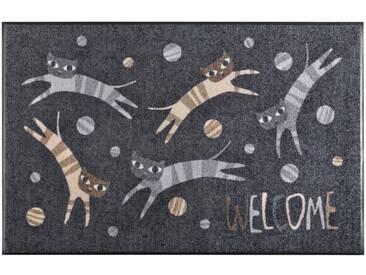 Salonloewe SALONLOEWE Fußmatte, schwarz, schwarz