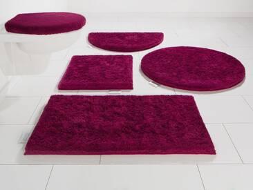 Guido Maria Kretschmer Home&Living Badematte »Jari« , Höhe 30 mm, rot, 30 mm, beere