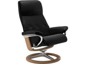 Stressless® Relaxsessel »Sky« mit Signature Base, Größe M, Gestell naturfarben, schwarz, black BATICK
