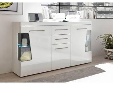 Bruno Banani Sideboard »GOBA«, Breite 172 cm, weiß, weiß