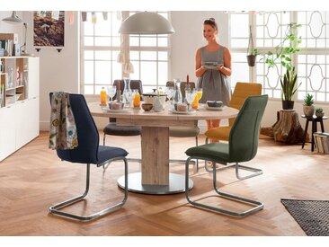 set one by Musterring Esstisch »Atlanta«, mit Auszugsfunktion, weiß, Einlegeplatten, Tischplatte: Holzwerkstoff, Tischplatte: Holzwerkstoff