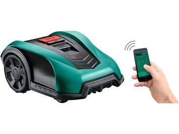 BOSCH Rasenmähroboter »Indego 350 Connect«, 18 V / 2,5 Ah, 19 cm Schnittbreite, bis 350 m² Rasenfläche, grün, grün