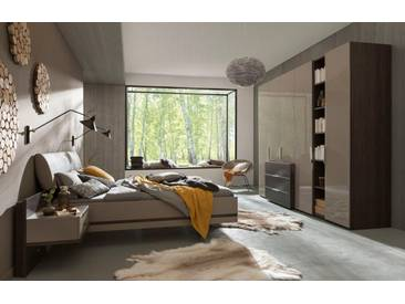 nolte® Möbel Schlafzimmer-Set »concept me 100«, grau, Liegefläche 140x200, grau