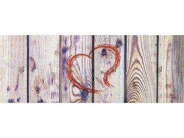 Artland Schlüsselbrett »Architektonische Elemente Fotografie Creme«, natur, 14,8x40x1,6 cm, Naturfarben
