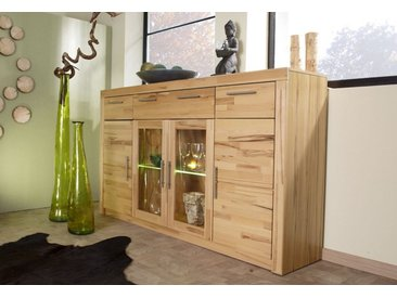 Highboard, natur, Kernbuche teilmassiv
