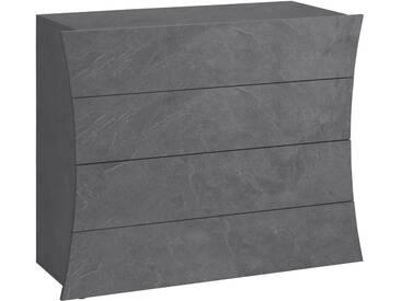 Tecnos Kommode »Arco«, Breite 90 cm, grau, zementfarben