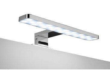 ADOB LED-Aufsatzleuchte »Spiegelleuchte«, 28 cm, silberfarben, eckig, silberfarben