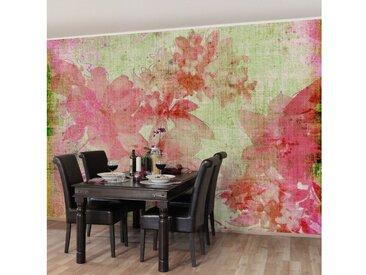 Bilderwelten Vliestapete Blumen Premium Breit »Forgotten Beauties II«, rot, 190x288 cm, Rot