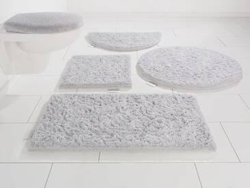 Guido Maria Kretschmer Home&Living Badematte »Jari« , Höhe 30 mm, silberfarben, 30 mm, silberfarben