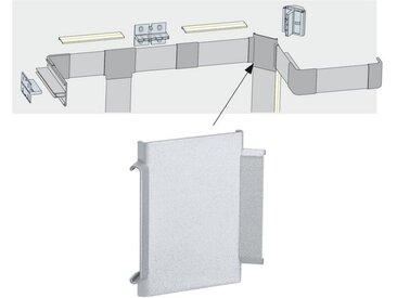 Paulmann LED-Streifen »Duo Profil X-Cover 2er Pack Grau, Kunststoff«