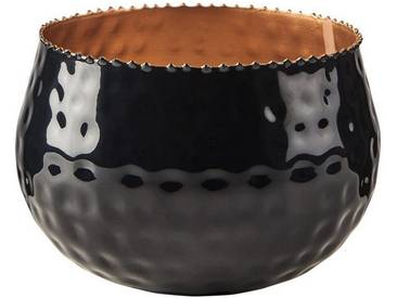 BUTLERS YOKO »Teelichthalter Höhe 9 cm«, Ø 13 cm, Höhe 9 cm