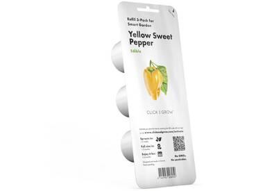 Click and Grow Nachfüllpack gelbe Paprika für Smart Garden »Plant Pod Yellow Sweet Pepper«, weiß, weiss