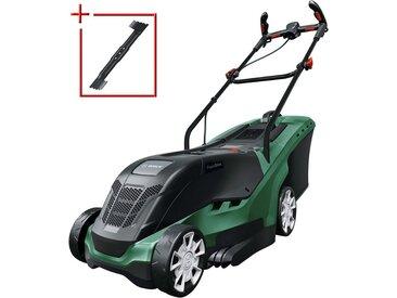 BOSCH Elektro-Rasenmäher »UniversalRotak 550«, 37 cm Schnittbreite, grün, grün