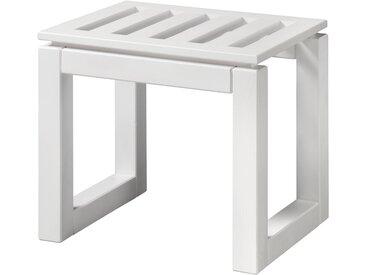 welltime WELLTIME Badhocker »Venezia«, 45 cm breit, weiß, weiß