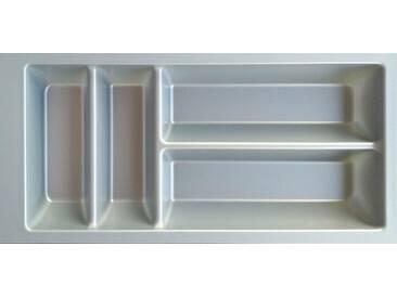 OPTIFIT Besteckeinsatz »Cara«, 30 cm breit, grau, silbergrau