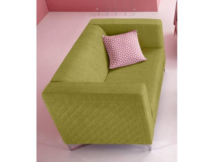 INOSIGN 2-Sitzer mit Steppung, grün, limette Grün