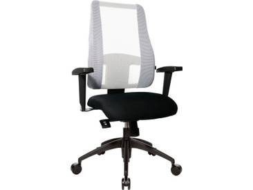 TOPSTAR Bürostuhl »Lady Sitness Deluxe«, schwarz, schwarz/weiß