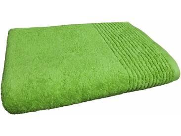 Dyckhoff Handtücher »Brillant«, feine Streifenbordüre, grün, Walkfrottee, apfel