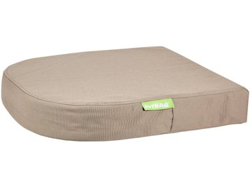 OUTBAG Auflage »Moon pillow PLUS«, robust und wasserdicht, B/L: 45x45 cm, braun, 1 Auflage, braun