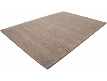 LALEE Hochflor-Teppich »Touch 300«, rechteckig, Höhe 27 mm, natur, 27 mm, beige