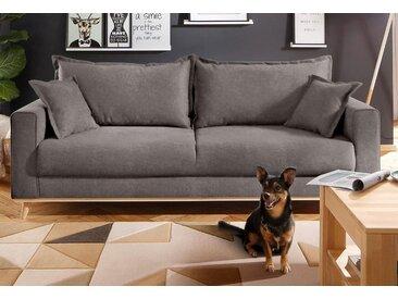 Home affaire 3-Sitzer »Edina«, im skandinavischem Stil, grau, 210 cm, anthrazit