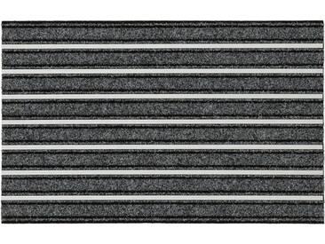 HANSE Home Fußmatte »Alustar«, rechteckig, Höhe 13 mm, grau, 13 mm, grau