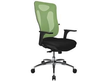 TOPSTAR Bürostuhl ohne Armlehnen »Net Pro 100«, grün, grün