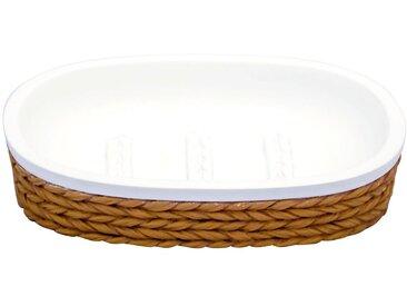 RIDDER Seifenschale »Wrap«, oval, natur, beige/weiß