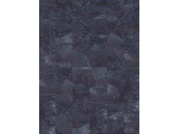 Infloor INFLOOR Teppichfliese »Velour Steinoptik Schiefer grau«, selbsthaftend 25 x 100 cm, grau, schiefergrau