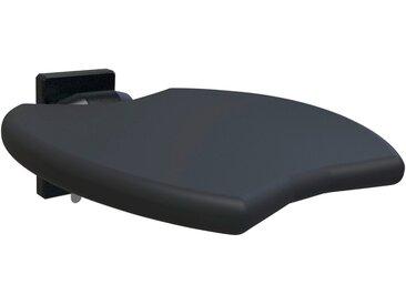 ERLAU Duschsitz »Duschklappsitz«, Die bequeme Art zu Duschen, schwarz, schwarz
