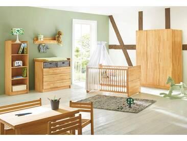 Pinolino® Pinolino Babyzimmer Set »Natura« breit groß (3-tlg.), natur, buche vollmassiv, geölt