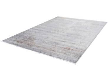 LALEE Teppich »Fashion 902«, rechteckig, Höhe 8 mm, silberfarben, 8 mm, silberfarben