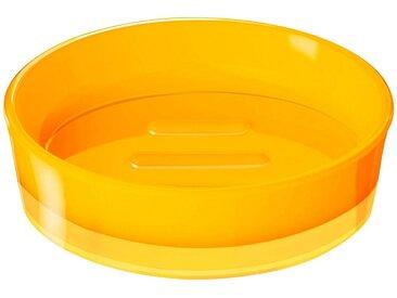 RIDDER Seifenschale »Disco«, rund, gelb, gelb