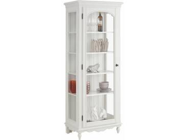 Premium collection by Home affaire Vitrine »Katarina«, mit Glaseinsatz in der Holztür, Korpus aus massiver Buche, Breite 72 cm, natur