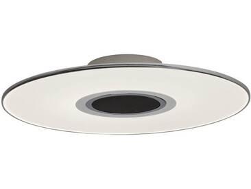 AEG Tonic LED Deckenleuchte 49cm mit Lautsprecher weiß/chrom, weiß, weiß/chrom