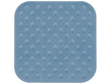 Kleine Wolke KLEINE WOLKE Duscheinlage »Blau«, BxH: 53 x 53 cm, blau, stahlblau