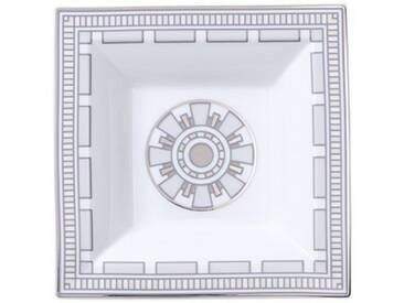 Villeroy & Boch quadratische Schale »La Classica Contura Gifts«, silberfarben, 14x14cm, silber/platin