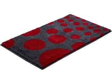 Colani Badematte » 16« , Höhe 24 mm, rutschhemmend beschichtet, fußbodenheizungsgeeignet, rot, 24 mm, rot