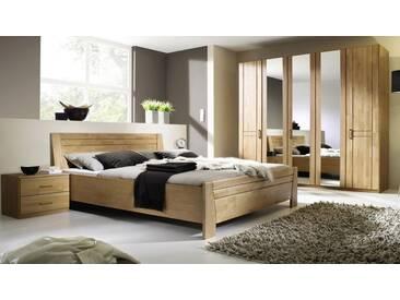 rauch Schlafzimmer-Set (4-tlg.), mit 5-türigen Kleiderschrank, Erle natur