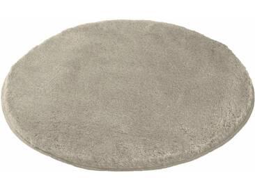 MEUSCH Badematte »Mona« , Höhe 30 mm, rutschhemmend beschichtet, fußbodenheizungsgeeignet, braun, 30 mm, taupe