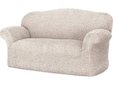 GAICO Sofahusse »Venere«, monoelastische Microfaser Qualität, natur, 2-Sitzer, natur