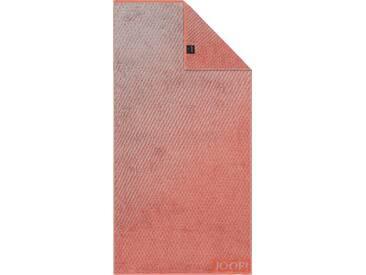 Joop! Handtücher »Diamond Blended«, mit eingewebtem JOOP! Logo, rot, Walkfrottier, coral