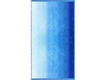 Dyckhoff Strandtuch »Colori«, mit Farbverlauf, blau, Walkfrottee, blau