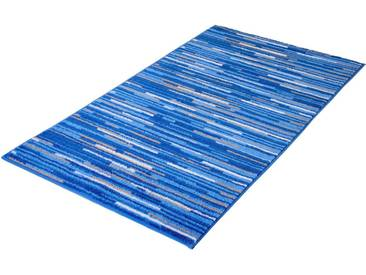 MEUSCH Badematte »Happy« , Höhe 12 mm, rutschhemmend beschichtet, fußbodenheizungsgeeignet, blau, 12 mm, königsblau